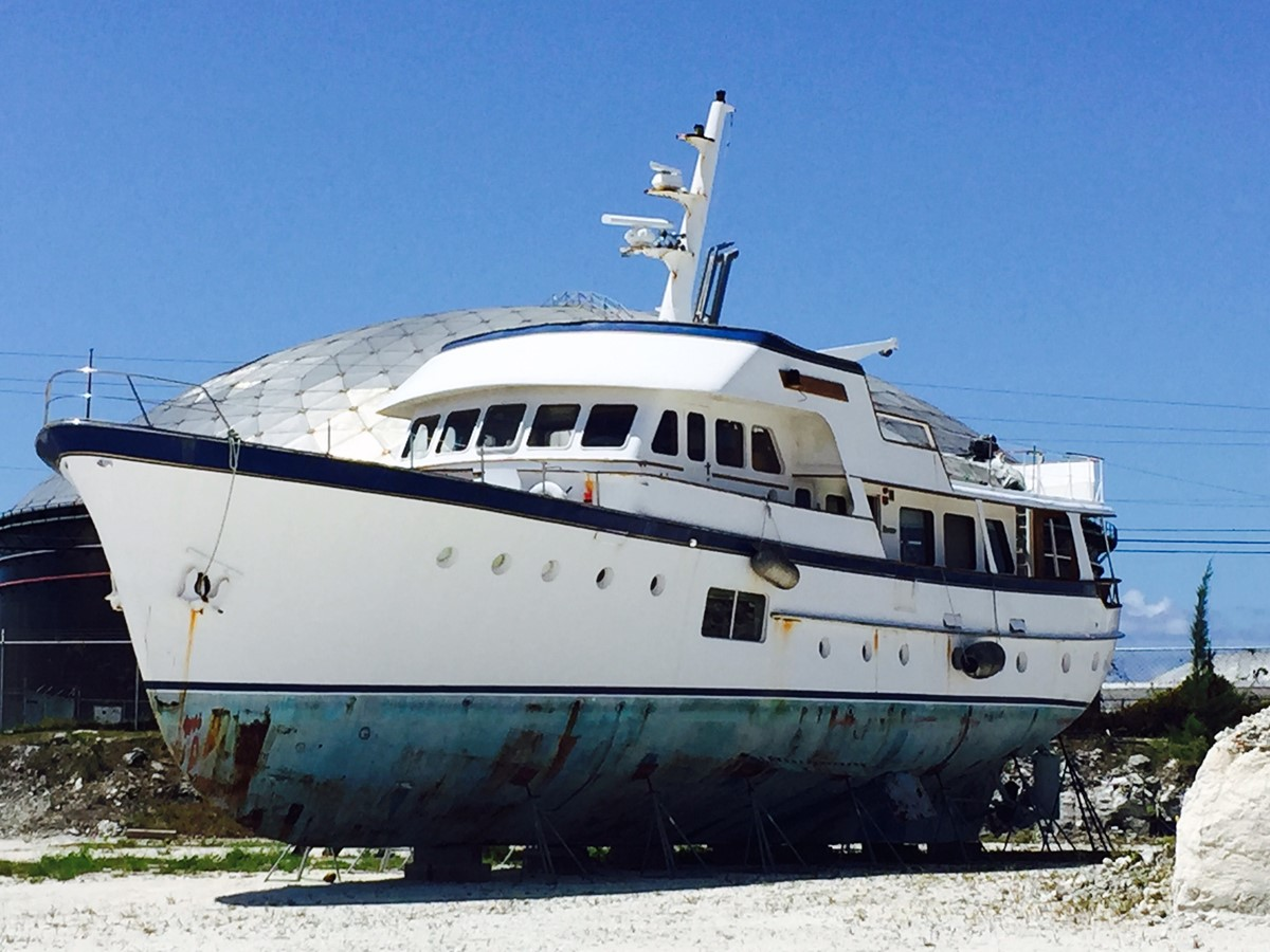 1964 FEADSHIP Classic Canoe Stern For Sale