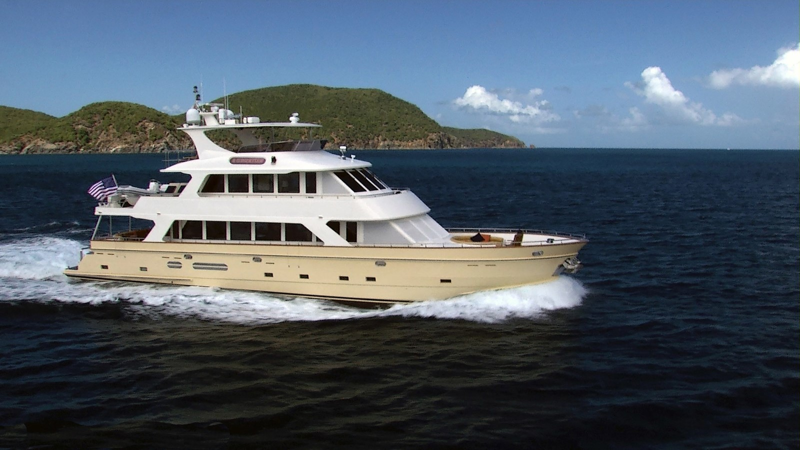 2007 PRESIDENT YACHTS Tri Deck w/FB For Sale
