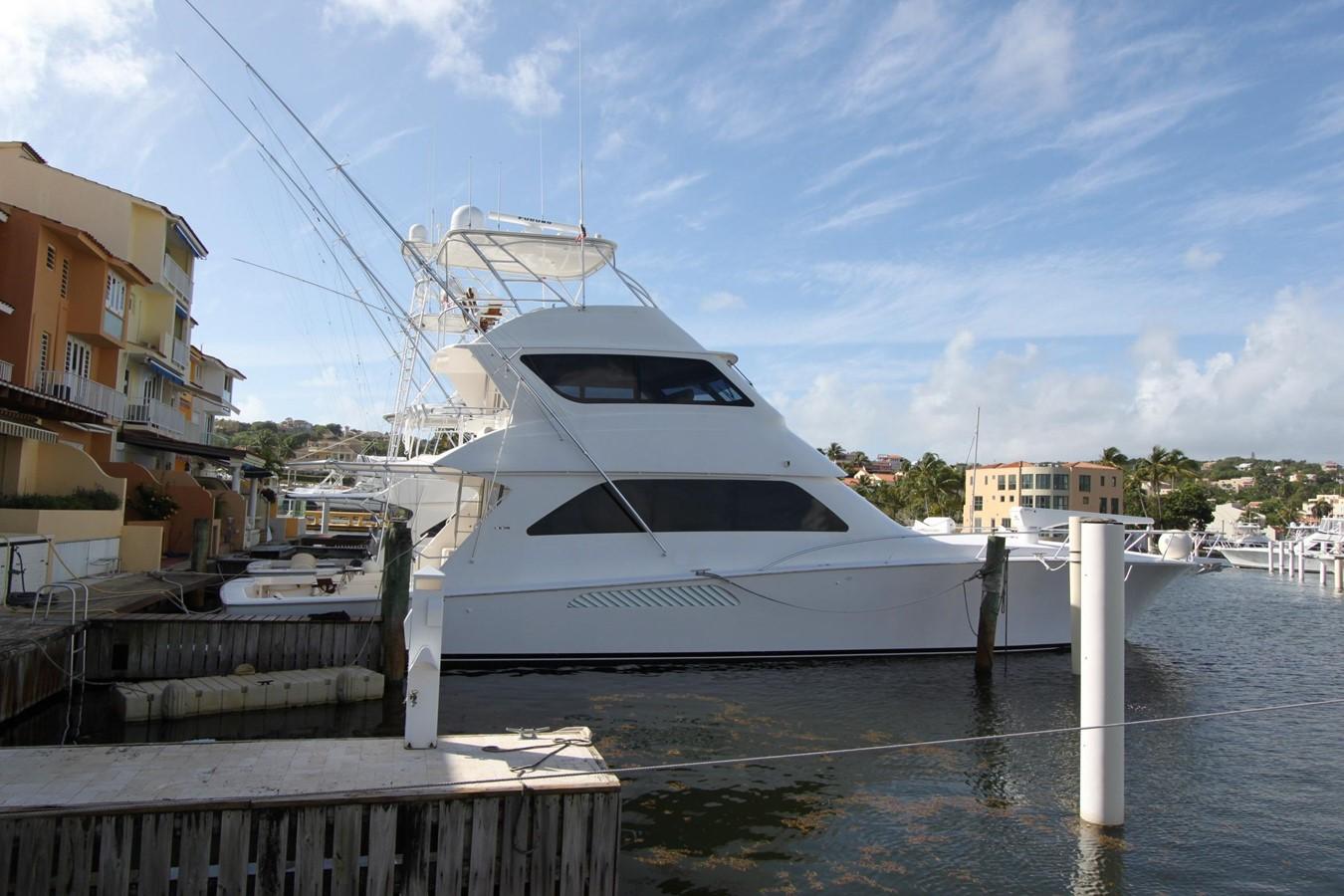 2006 Viking Yachts 74 Enclosed Bridge For Sale