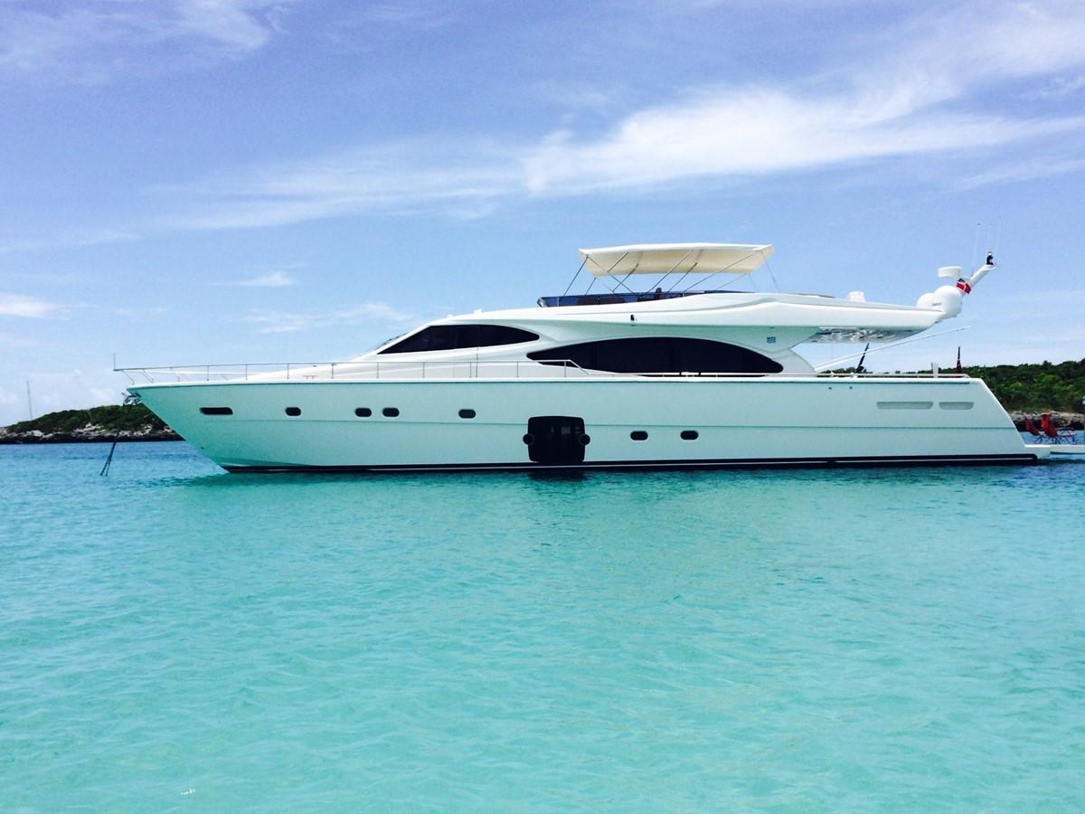 2007 Ferretti Yachts 780 For Sale