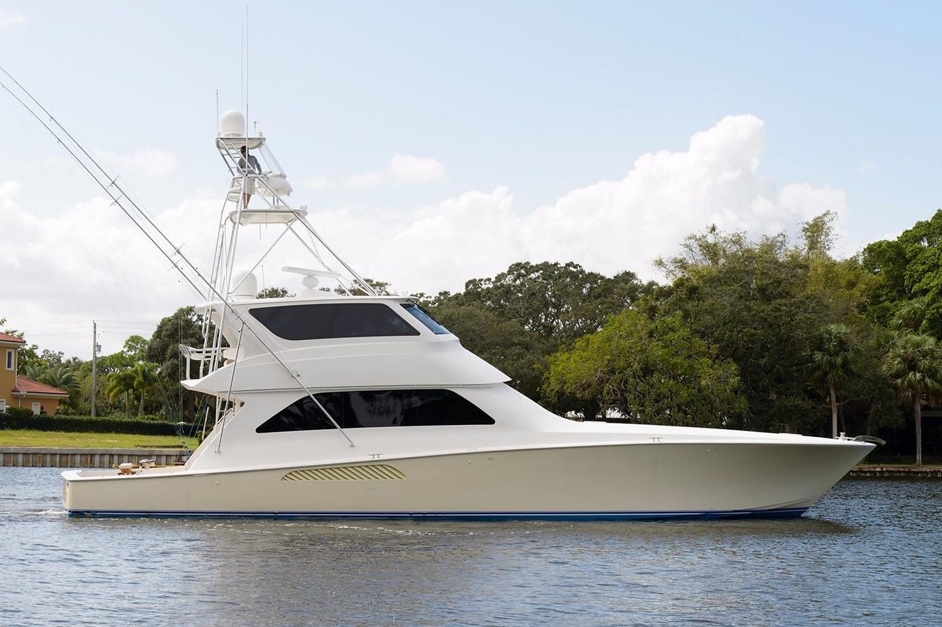 2007 Viking Yachts Enclosed Flybridge For Sale