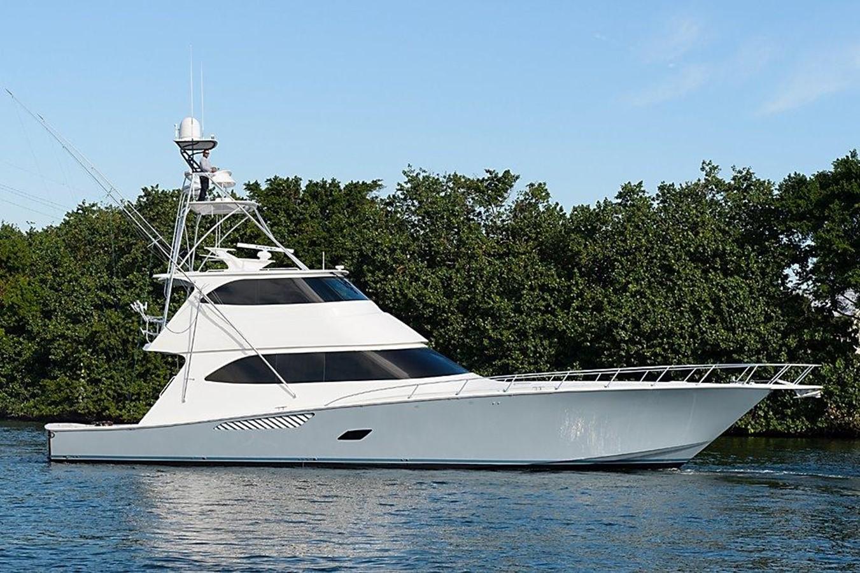 2014 Viking 76 Enclosed Bridge For Sale