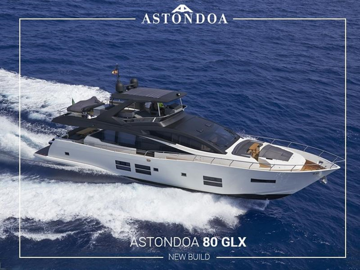 2018 Astondoa 80 GLX For Sale