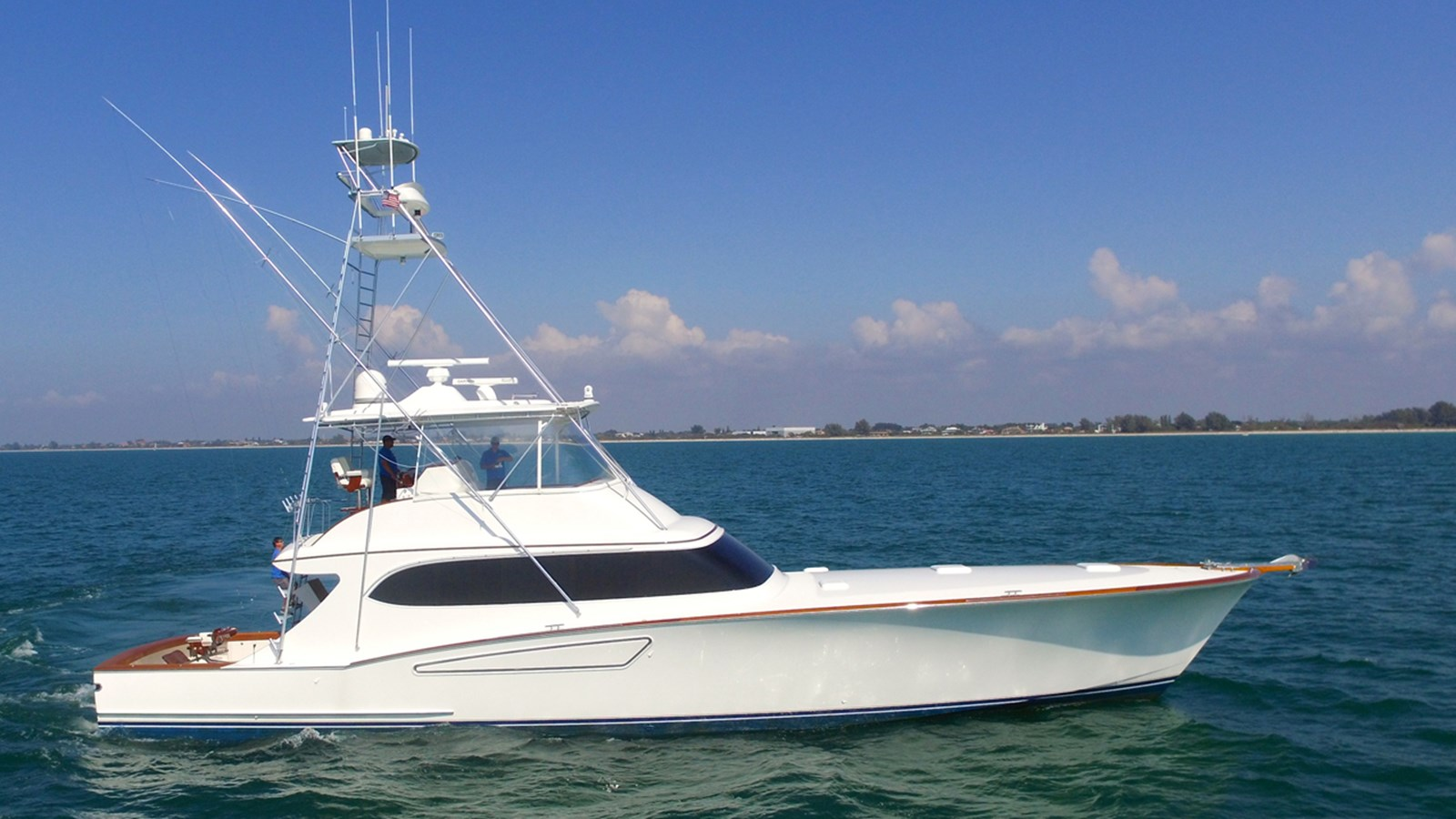 2008 MARK WILLIS 76 Custom Sportfish For Sale
