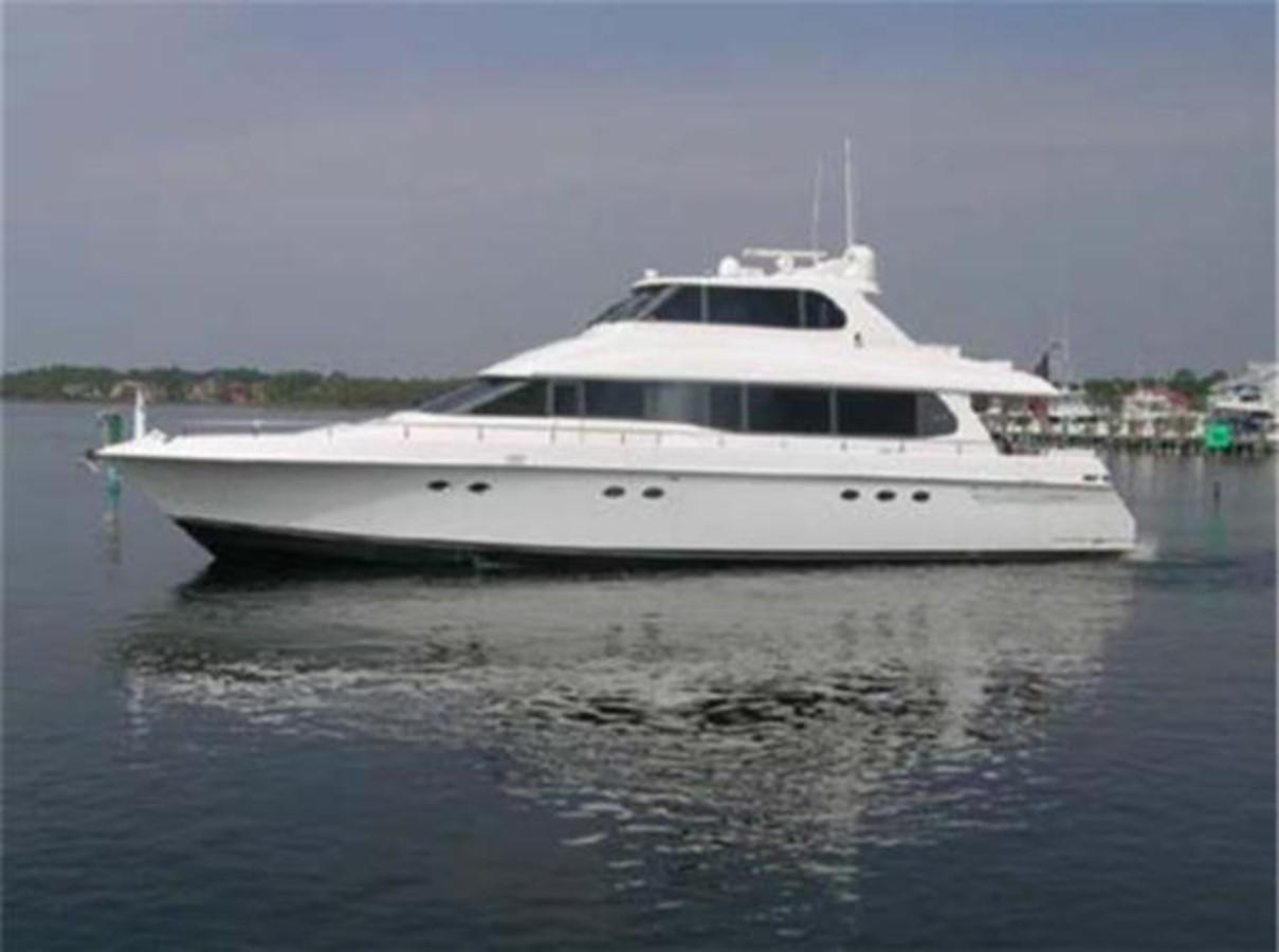 1997 LAZZARA 76 Motor Yacht For Sale
