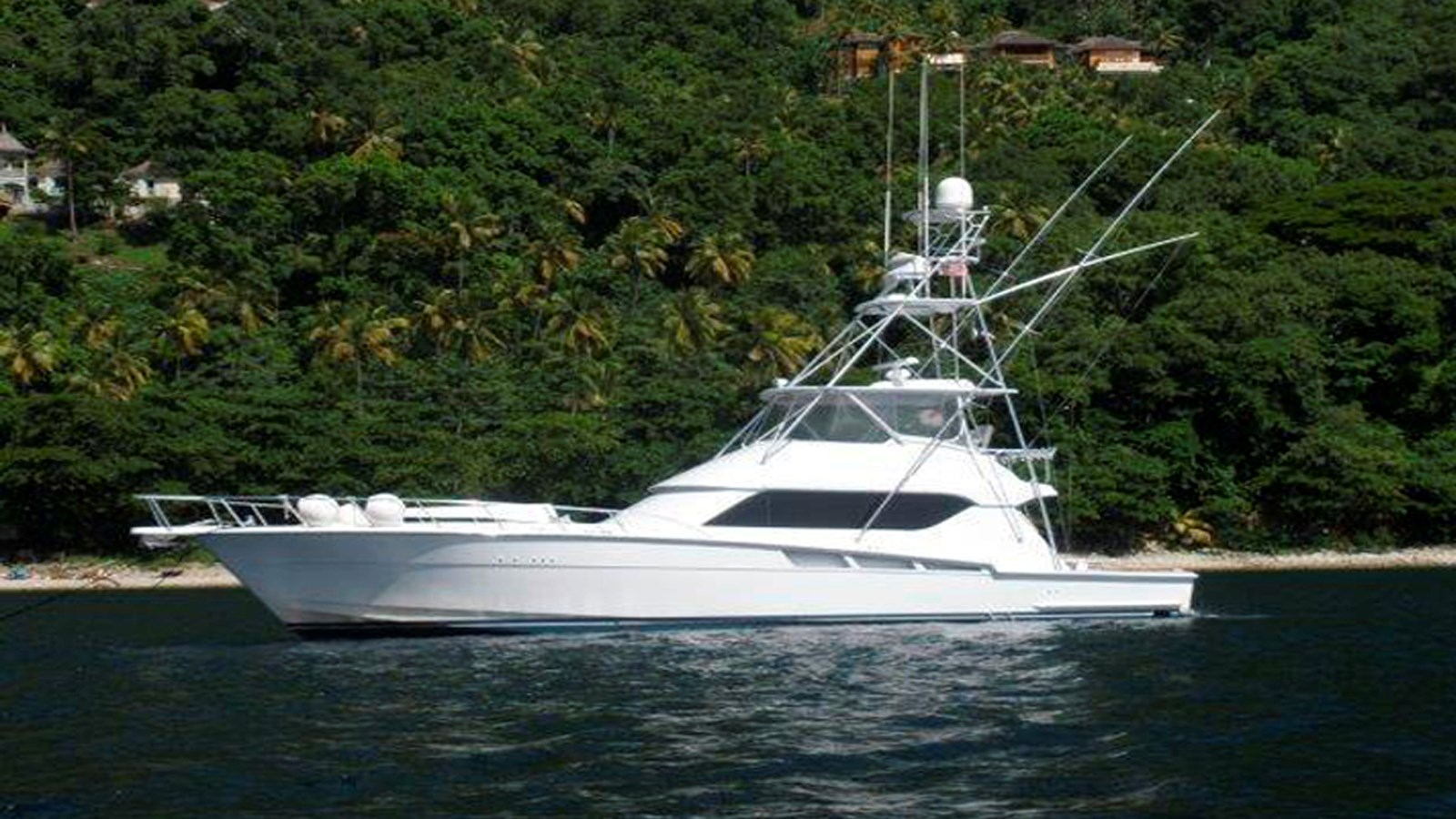 2003 HATTERAS 60 Convertible For Sale