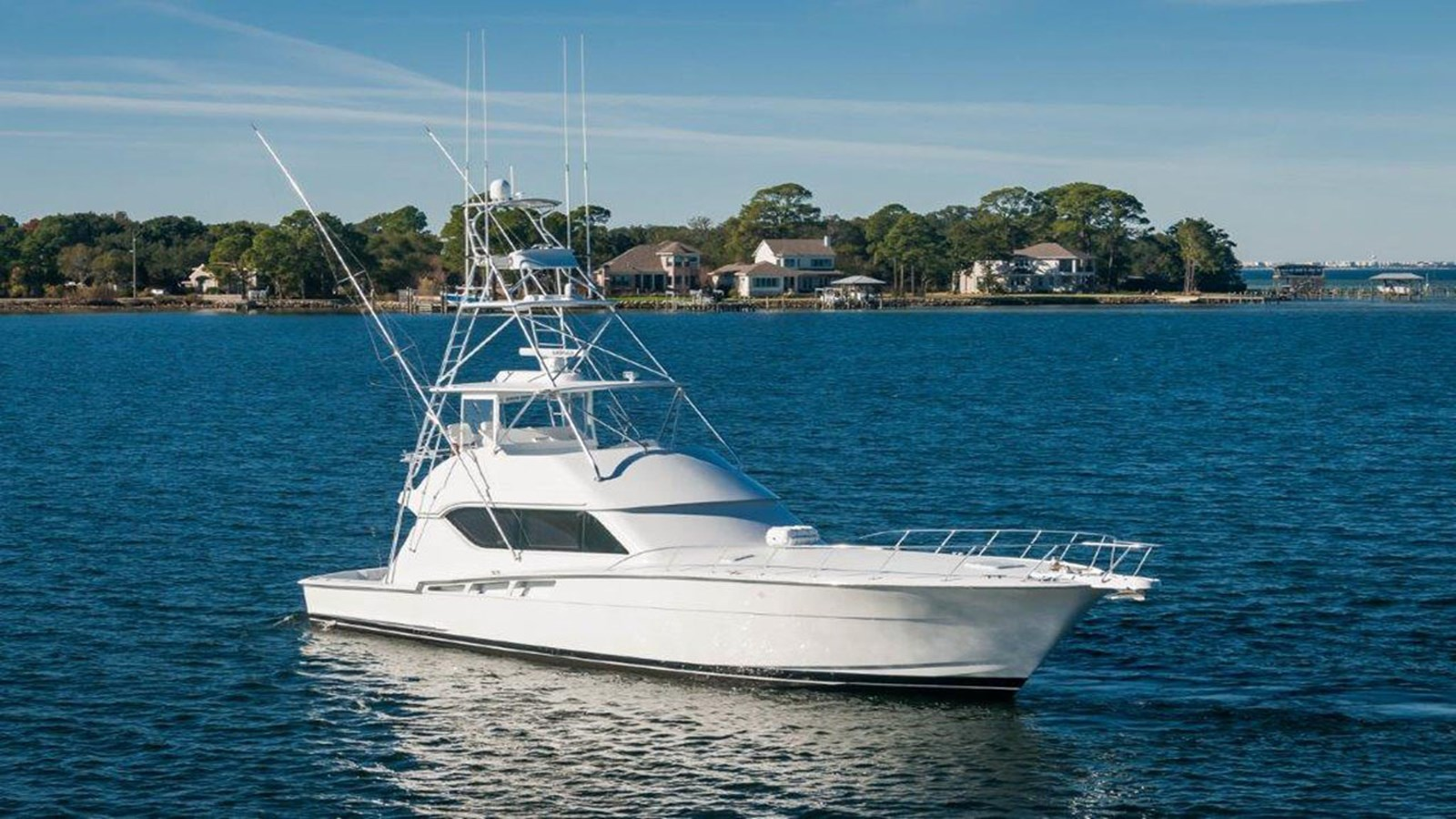 2001 HATTERAS 60 Convertible For Sale