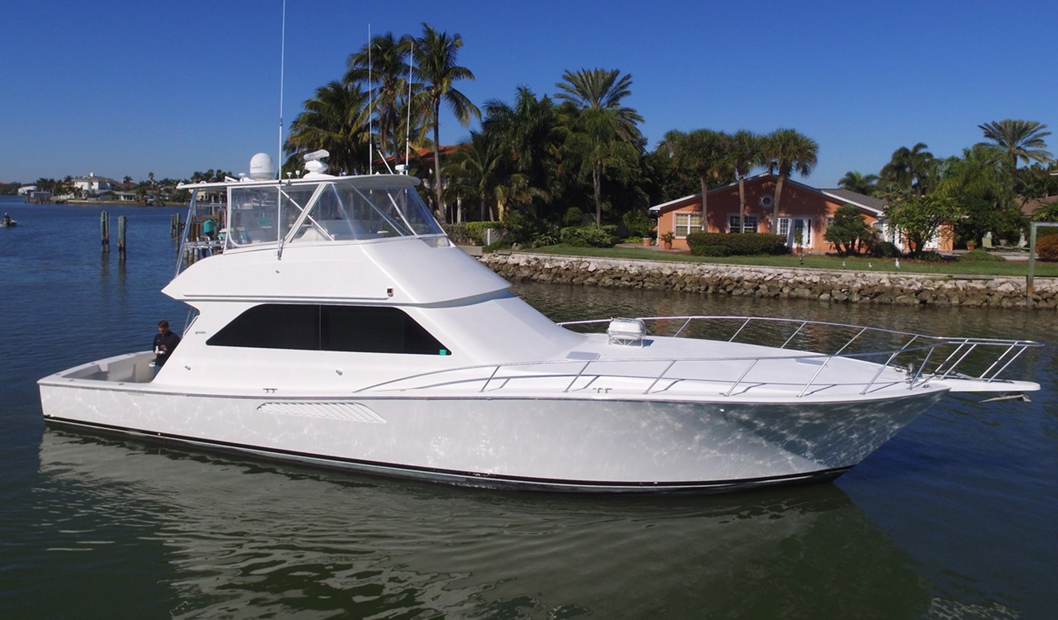 2001 VIKING 55 Convertible For Sale
