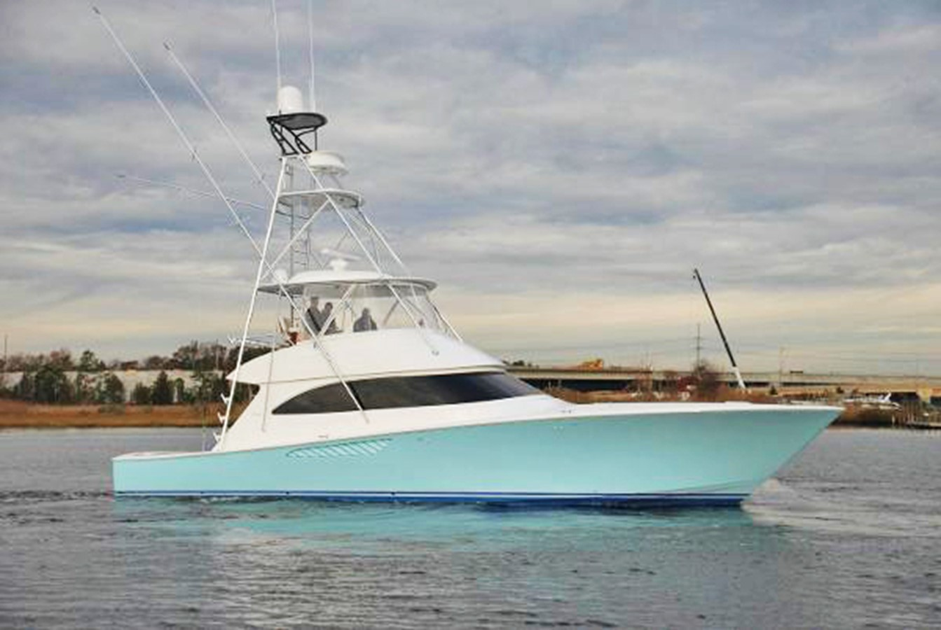 2013 VIKING 55 Convertible For Sale