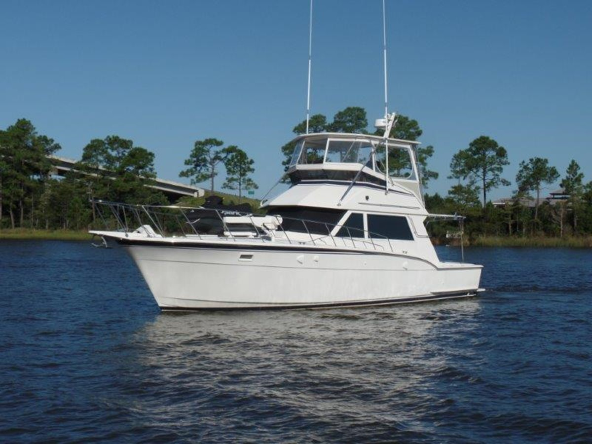 1984 HATTERAS 45 Convertible For Sale