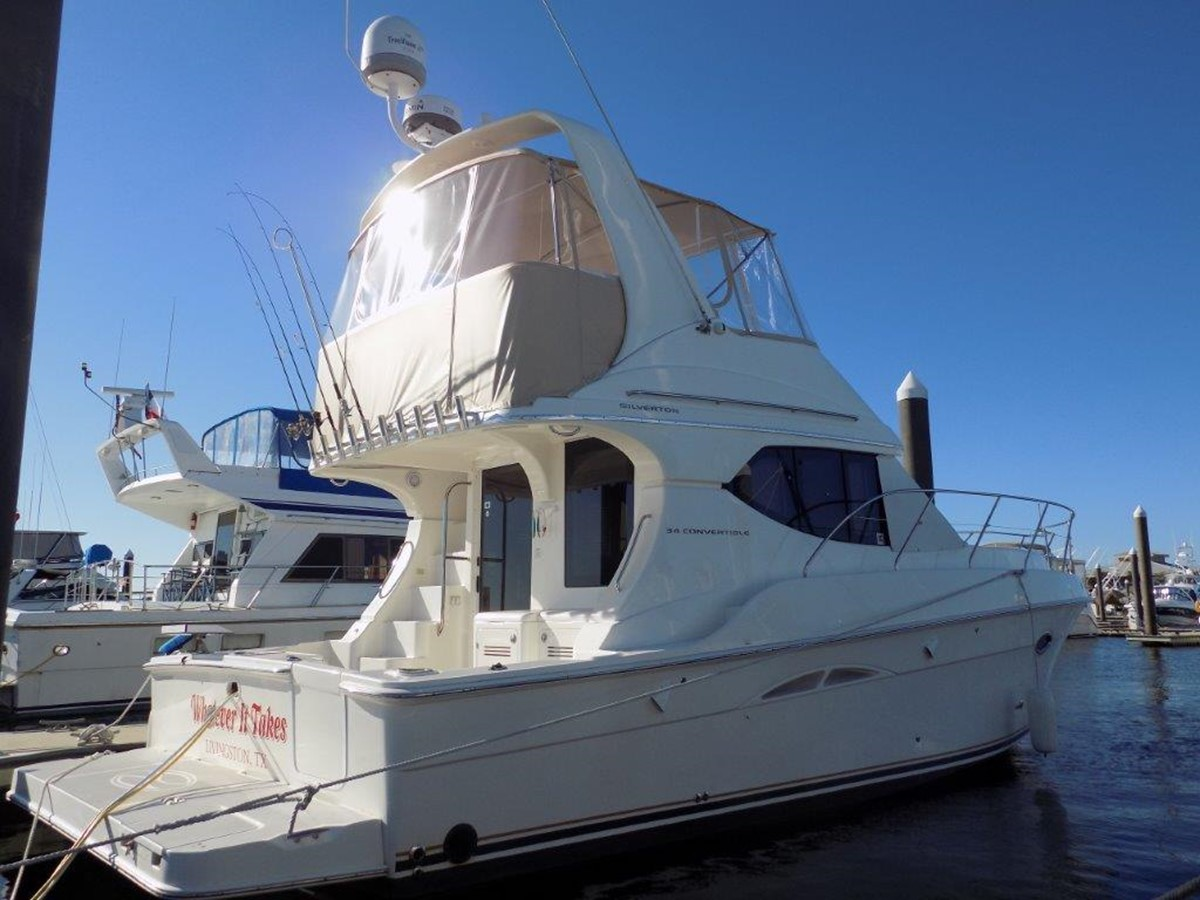 2005 SILVERTON 34 Convertible For Sale