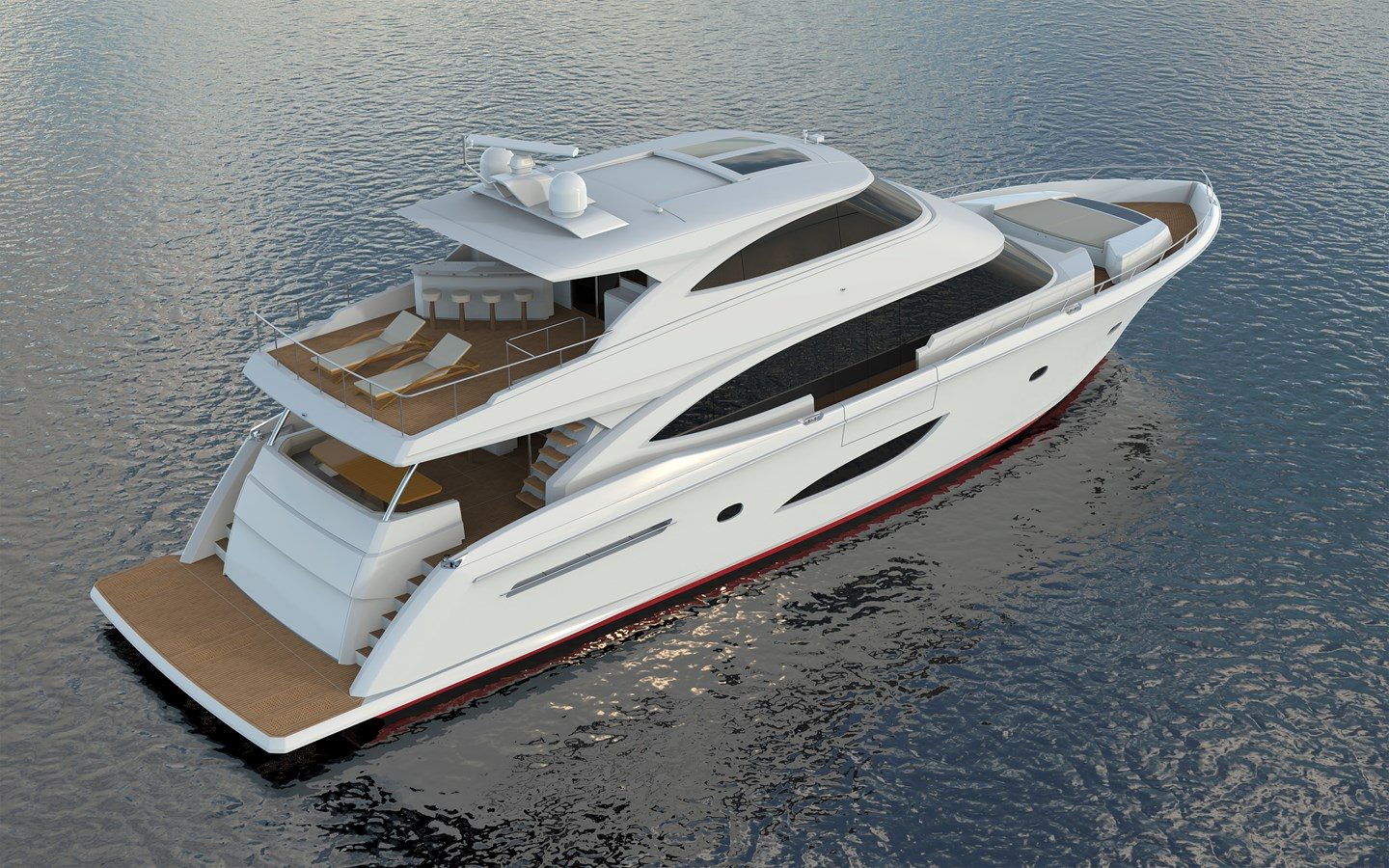 New Viking 93 Motor Yacht Yachts For Sale