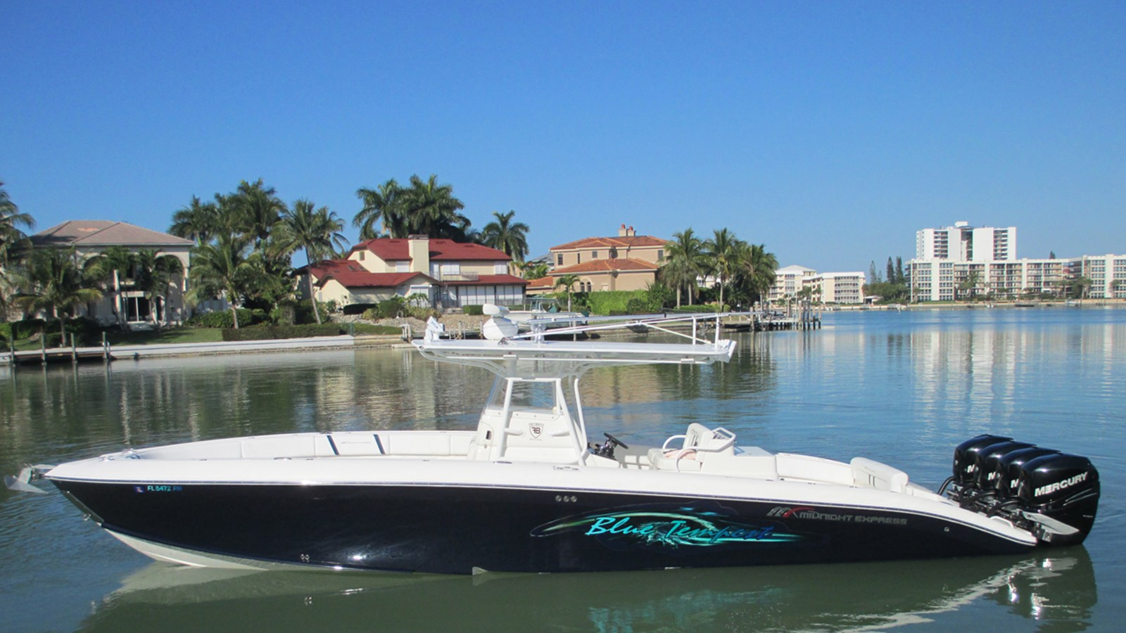 2010 MIDNIGHT EXPRESS 37 Center Console For Sale
