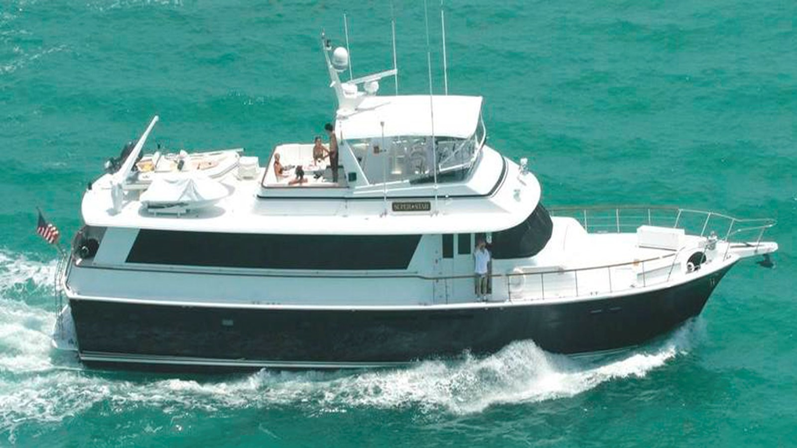 1985 HATTERAS 72 Motor Yacht For Sale