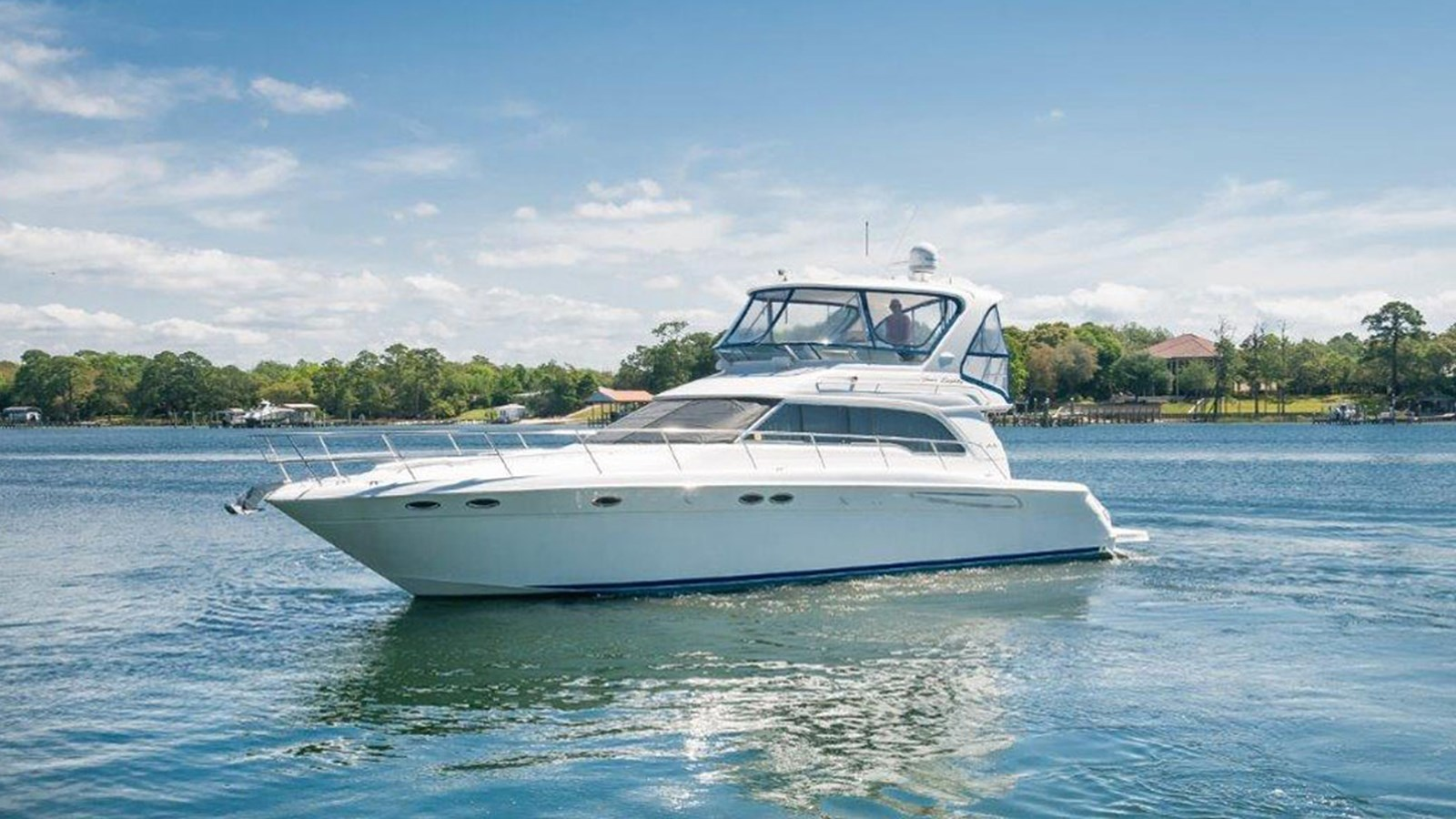 2001 SEA RAY 48 Sedan Bridge For Sale