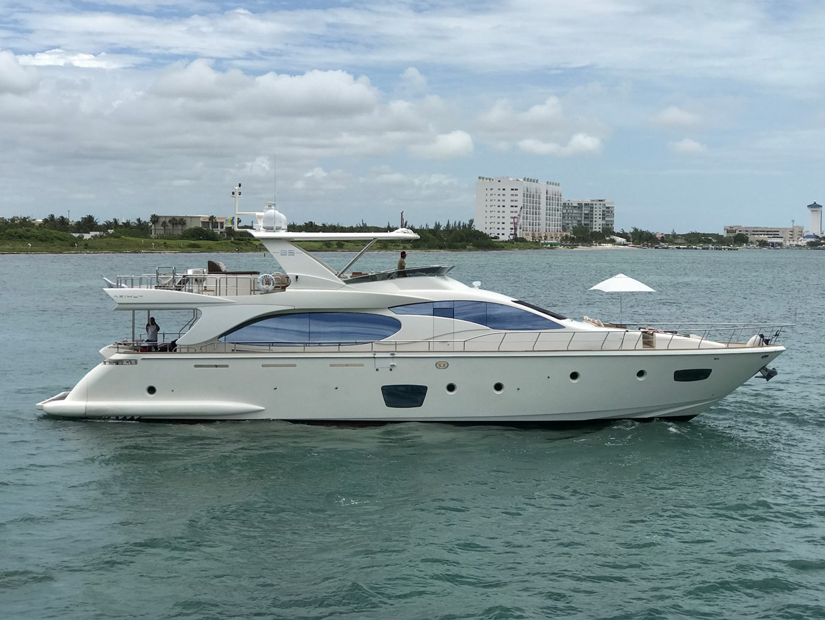 2007 AZIMUT 85 For Sale