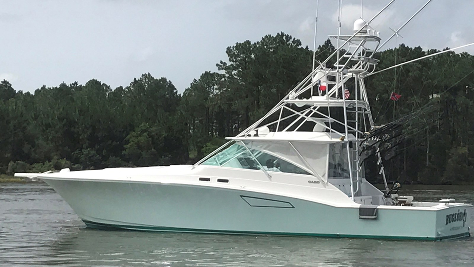 1999 CABO 45 Express For Sale