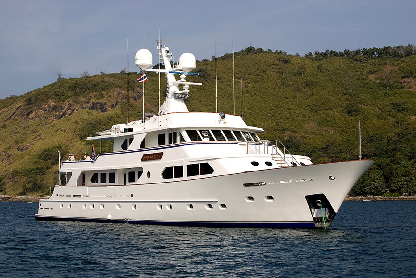 1988 STERLING YACHTS Tri-Deck Ocean Going For Sale