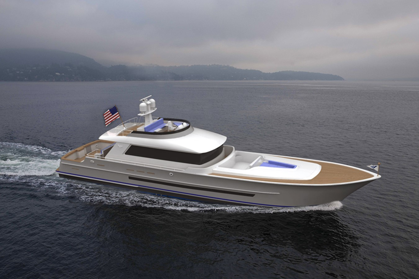 2019 PARAGON MOTOR YACHTS Luxury Fly Bridge  For Sale