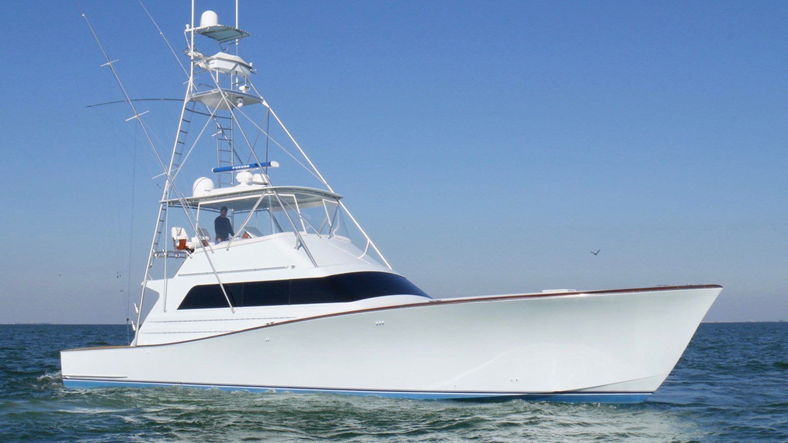 1990 MONTEREY 58 Sportfish For Sale