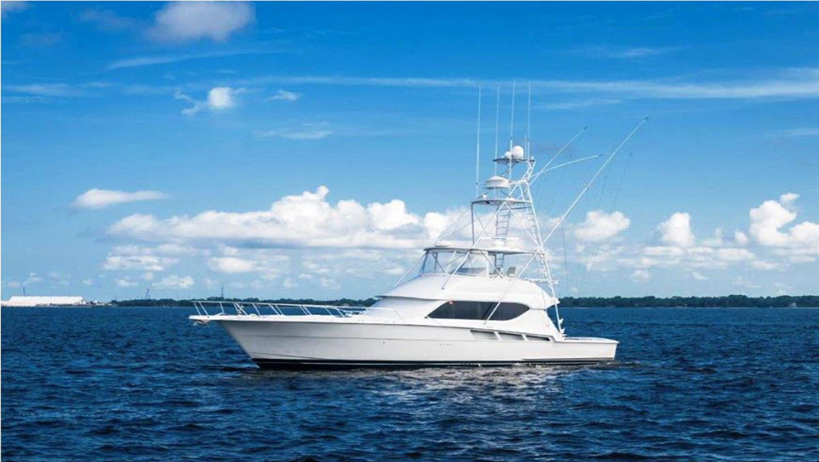 1999 HATTERAS 55 Convertible For Sale