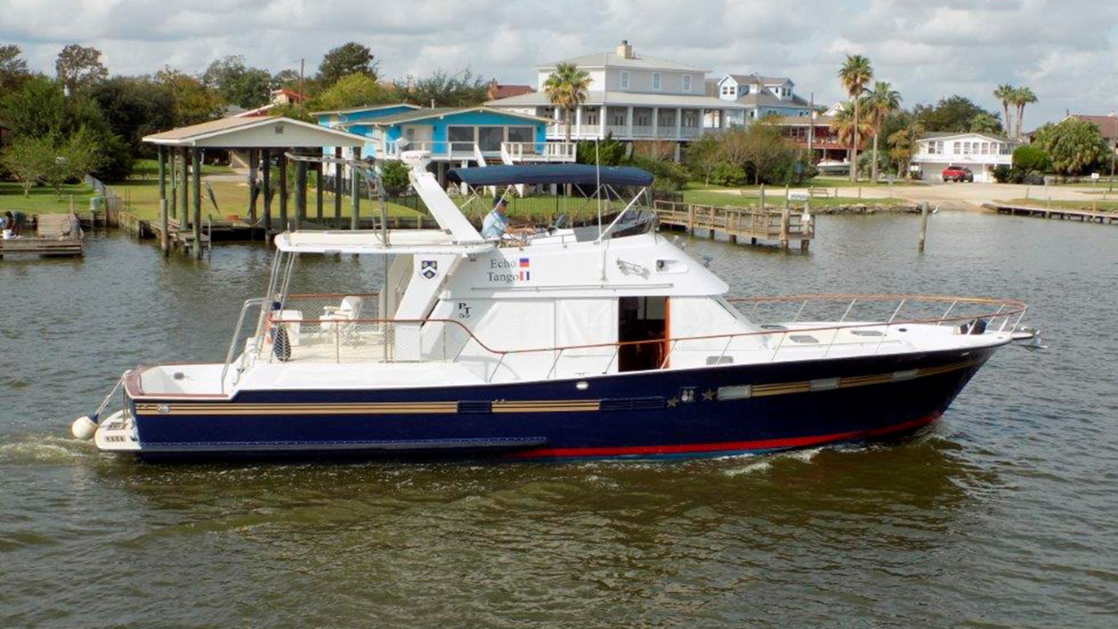 1987 PT 52 Cockpit Motor Yacht For Sale