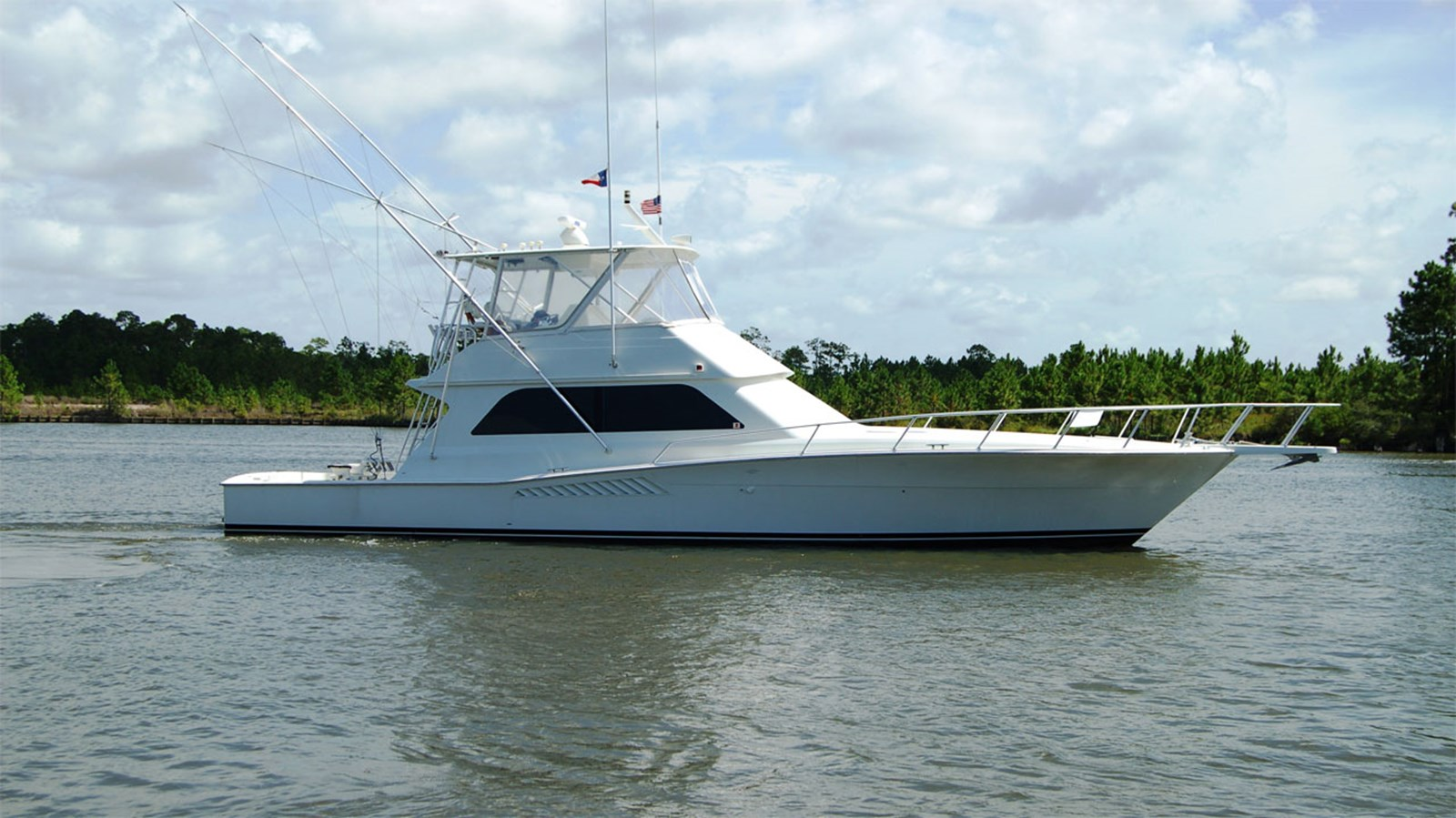 1998 VIKING 47 Convertible For Sale