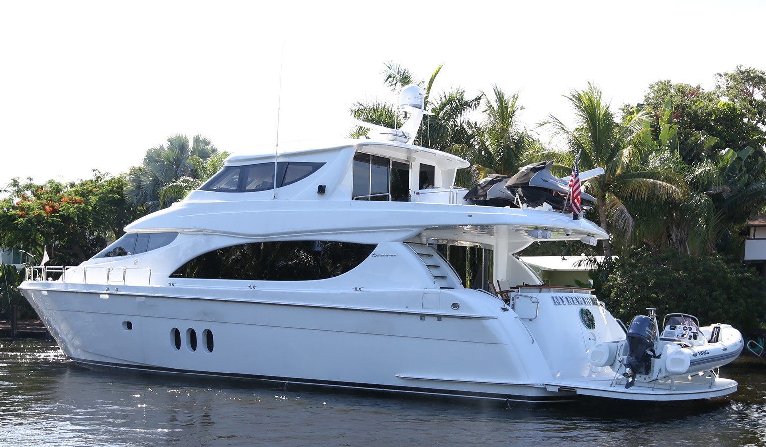 2006 HATTERAS 80MY For Sale