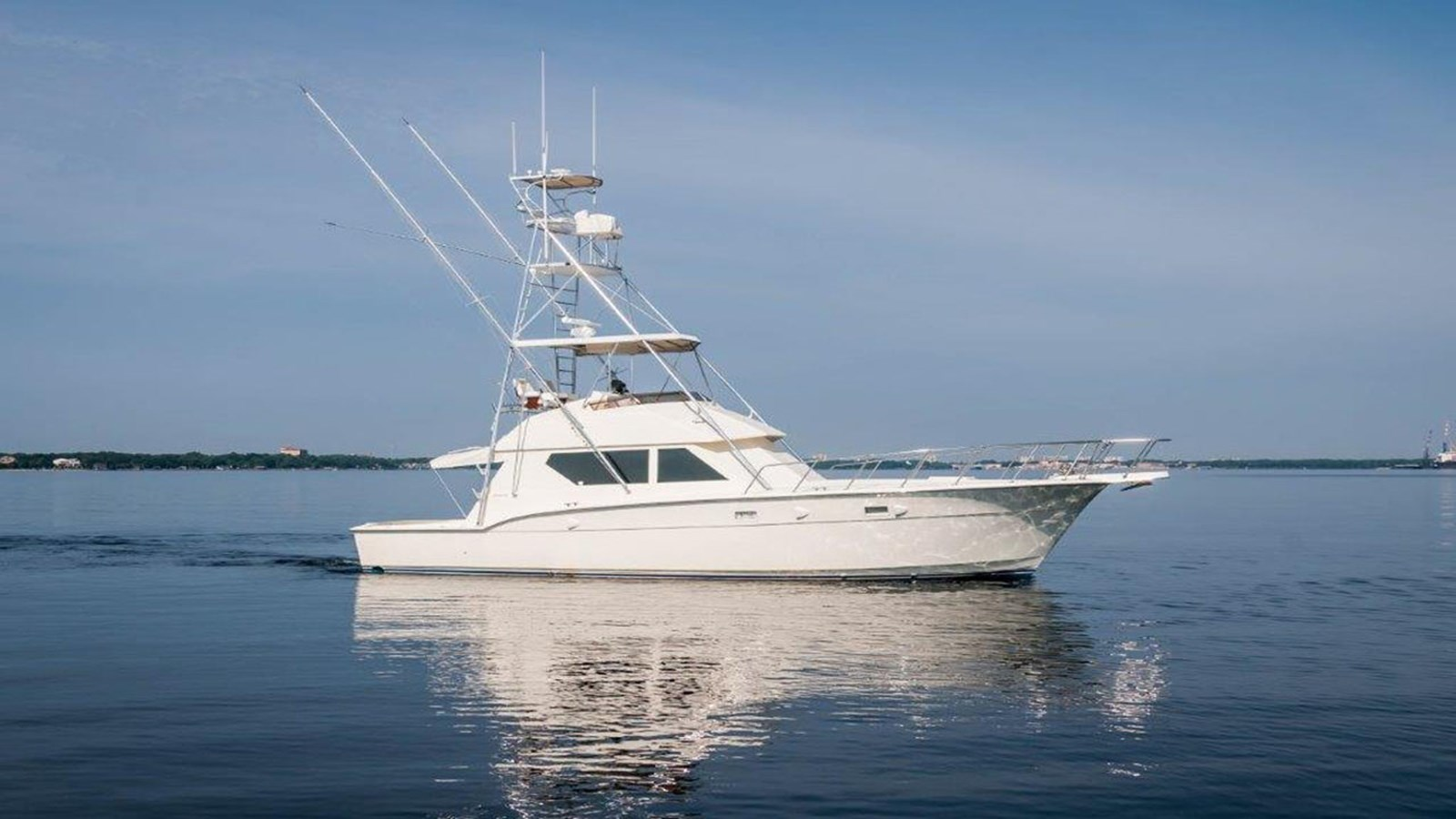 1989 HATTERAS 45 Convertible For Sale