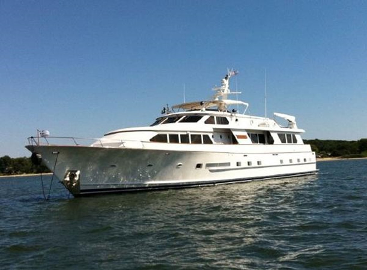 1986 DENISON Raised Bridge Motor Yacht-1986/2010 For Sale