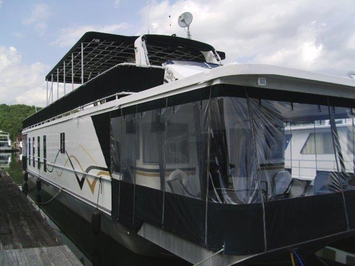 2007 Funtime 17 x 78 Houseboat For Sale