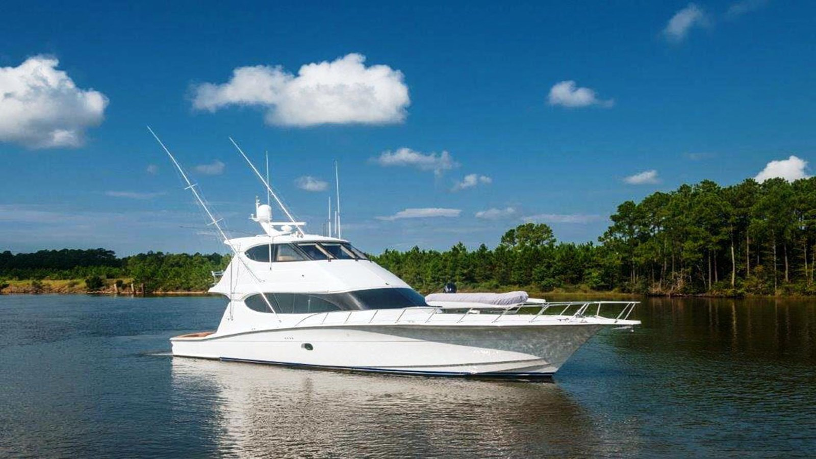 2007 HATTERAS 64 Convertible For Sale
