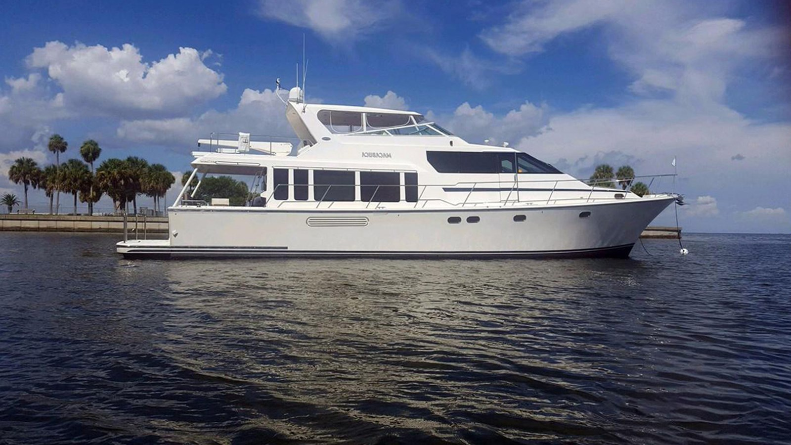 2004 PACIFIC MARINER 65 Pilothouse Motor Yacht Hull #39 For Sale