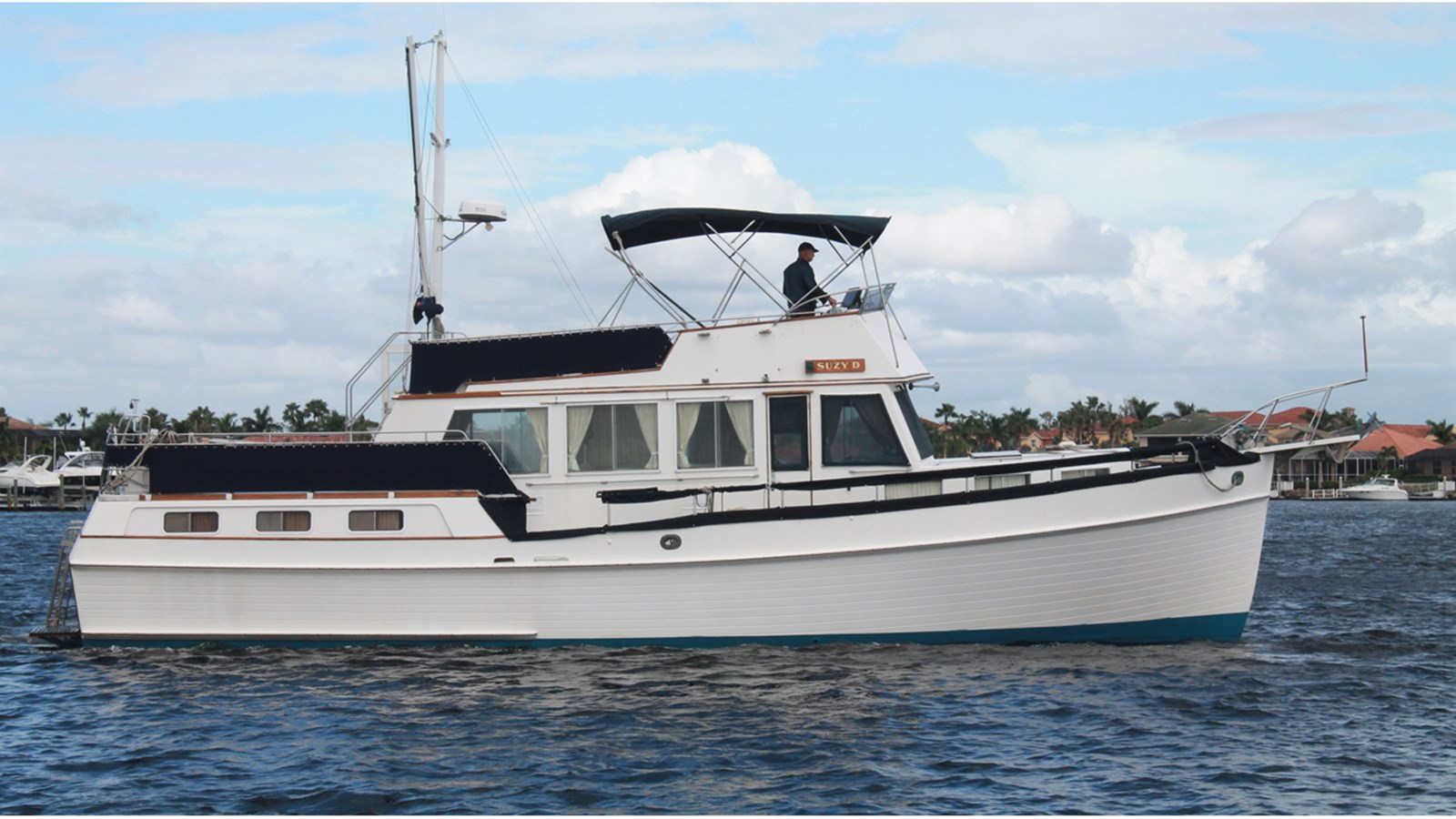 1987 GRAND BANKS 49 Motor Yacht For Sale