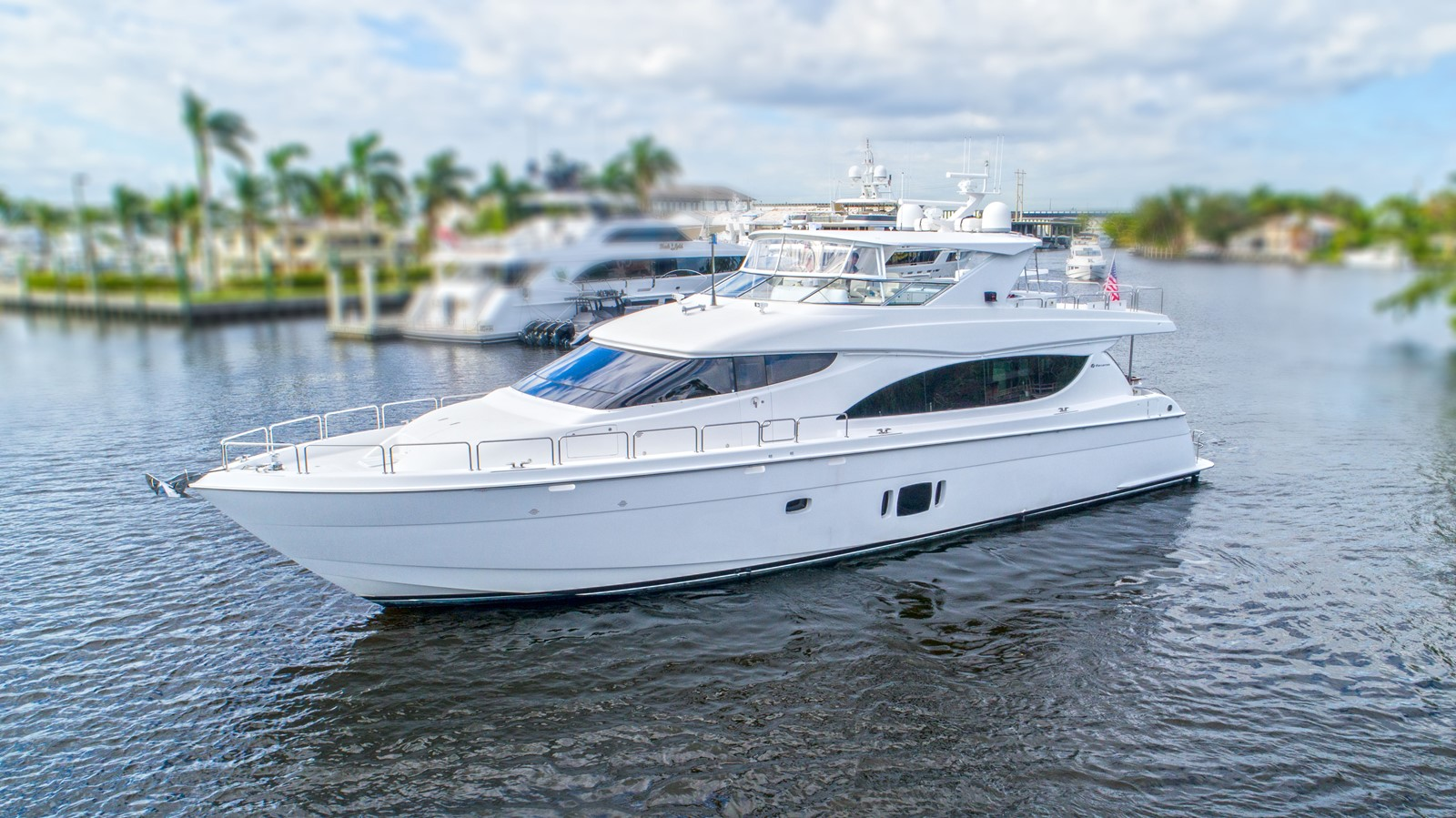2014 HATTERAS  For Sale