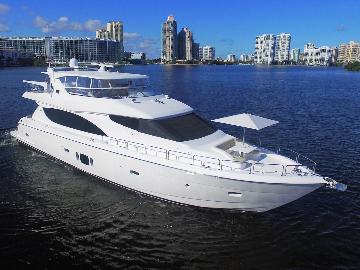 2015 Hatteras 80 Motor Yacht For Sale