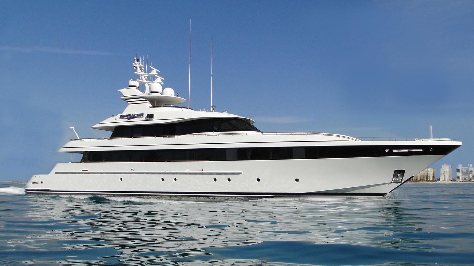 2001 FEADSHIP Fast Tri-Deck Motor Yacht For Sale