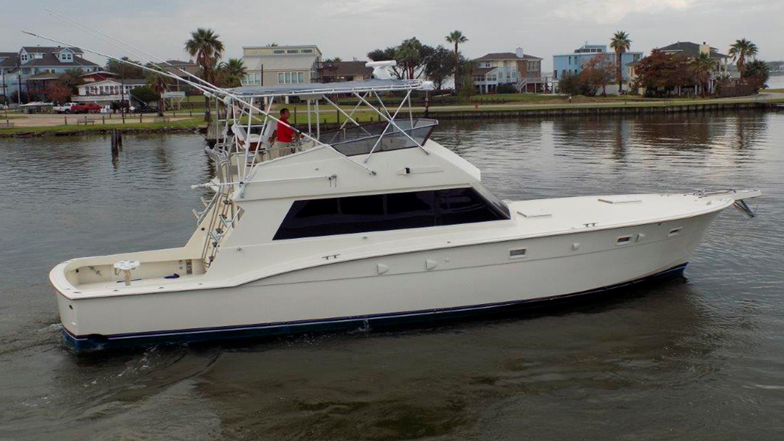 1986 HATTERAS 52 Convertible For Sale