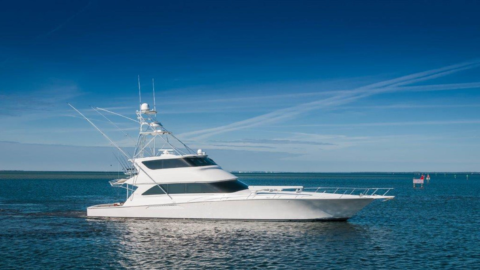 2005 VIKING 74 ENCLOSED BRIDGE For Sale