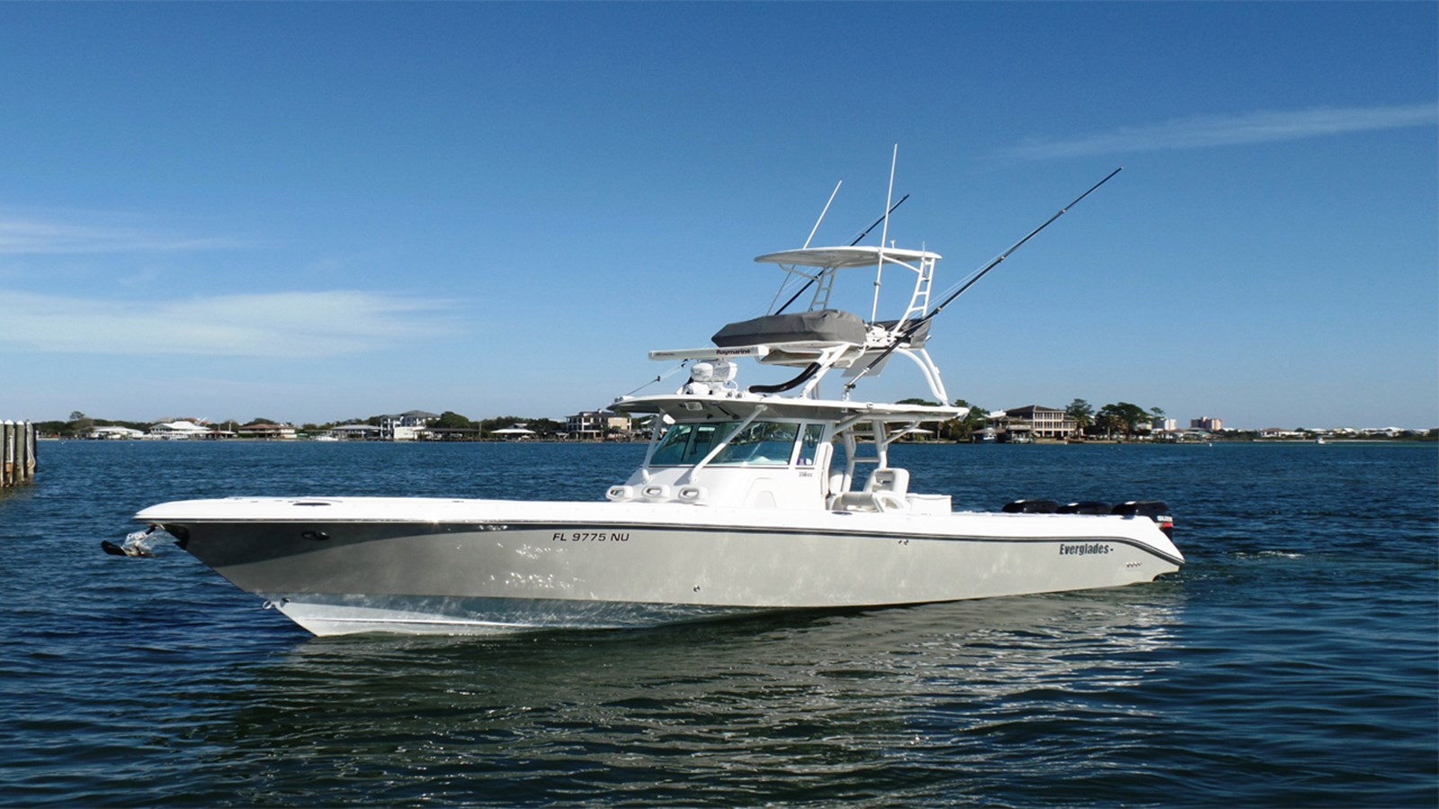 2008 EVERGLADES 350 Center Console For Sale