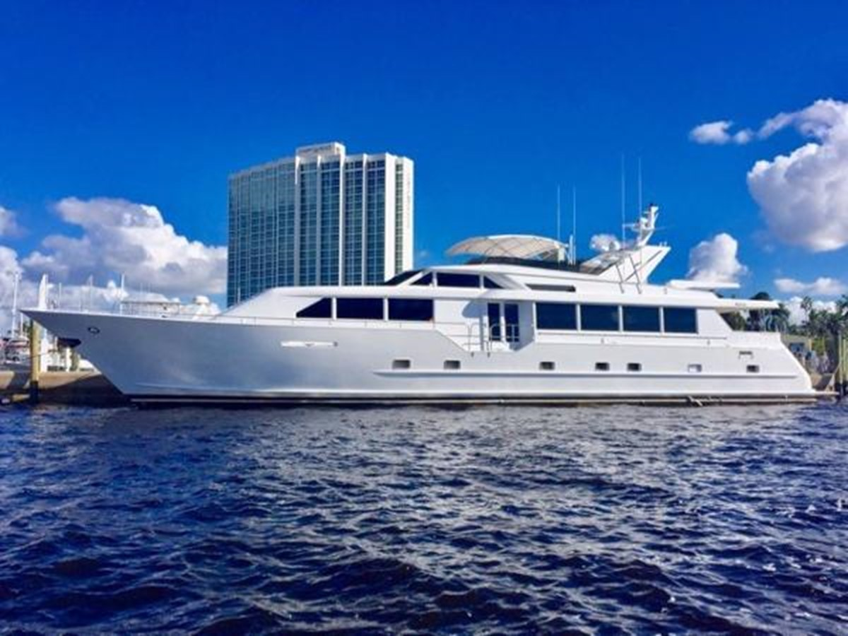 2000 BROWARD Raised Pilothouse For Sale