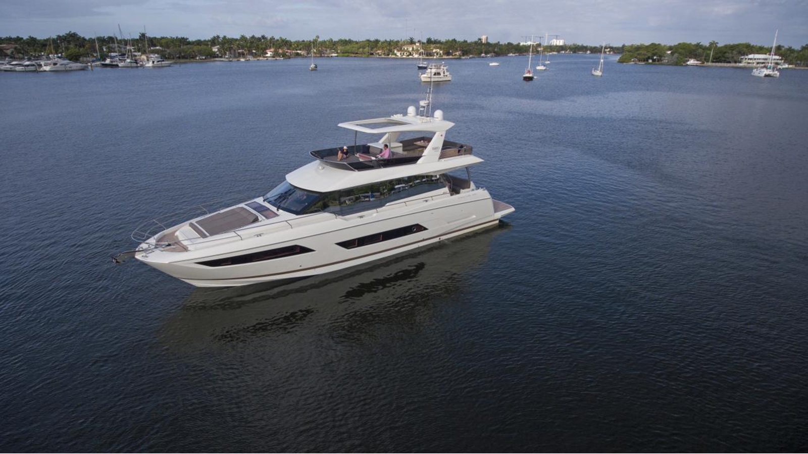2018 PRESTIGE 680 Flybridge For Sale