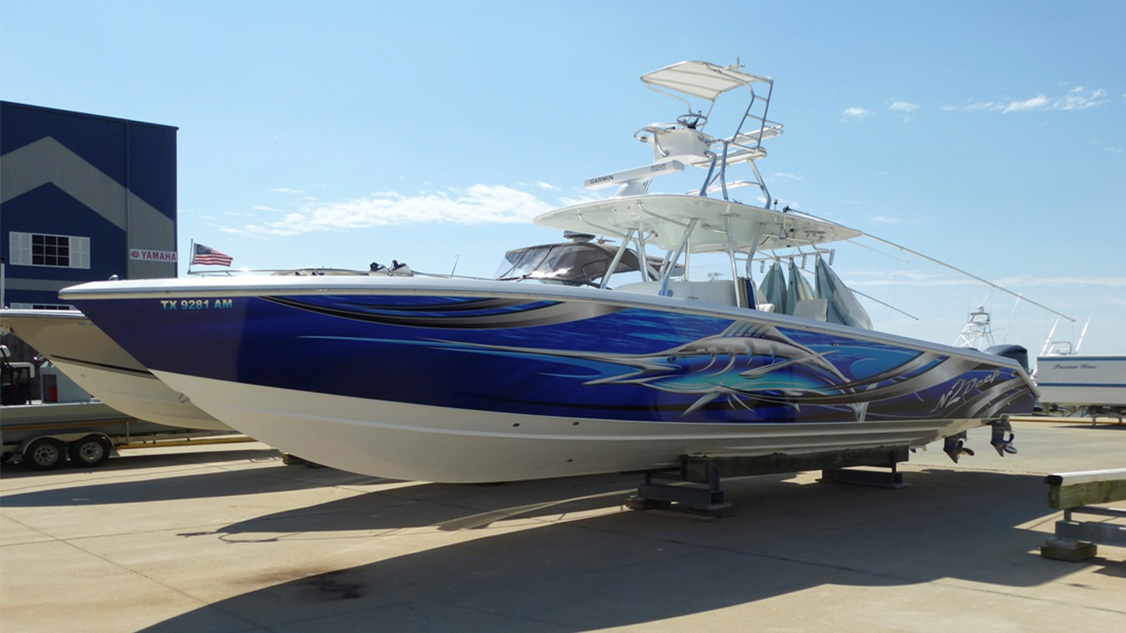 2007 VENTURE MARINE 39 Center Console For Sale