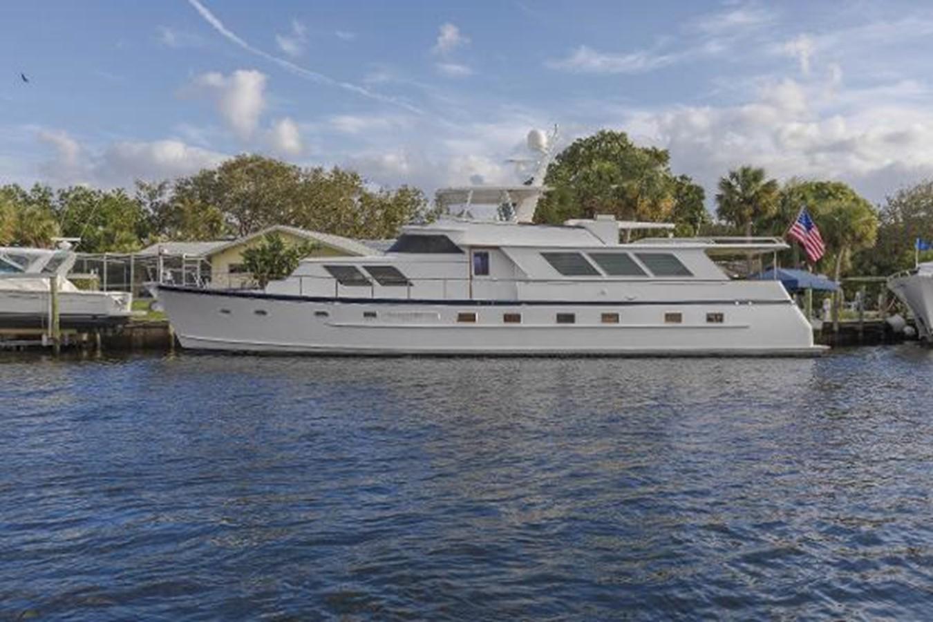 1982 BROWARD Raised Pilothouse Motor Yacht For Sale