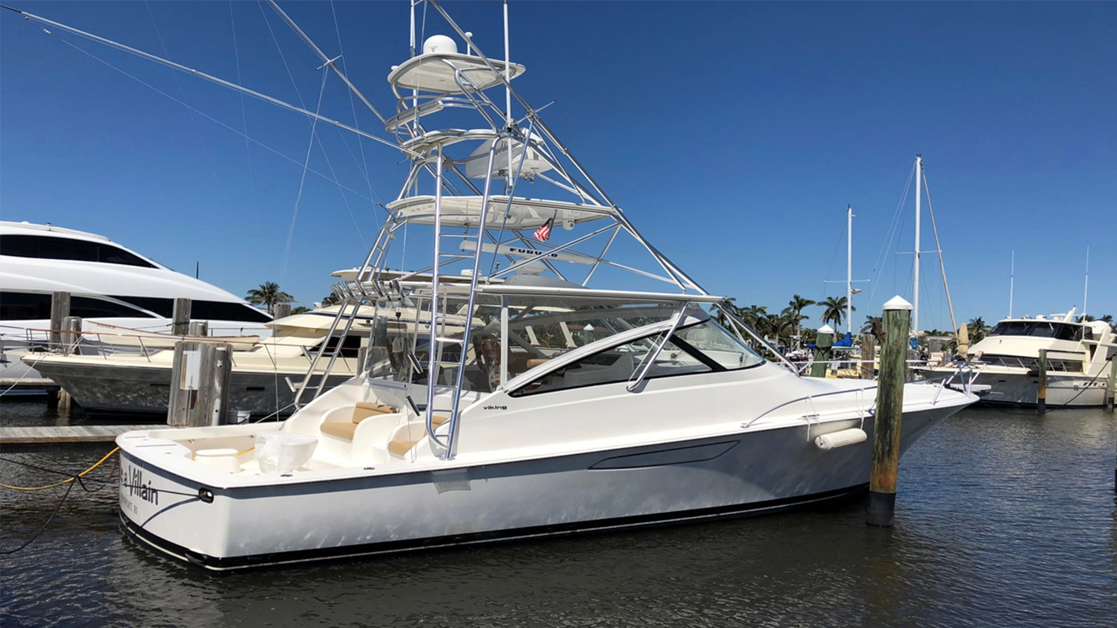 2012 VIKING 42 Open For Sale