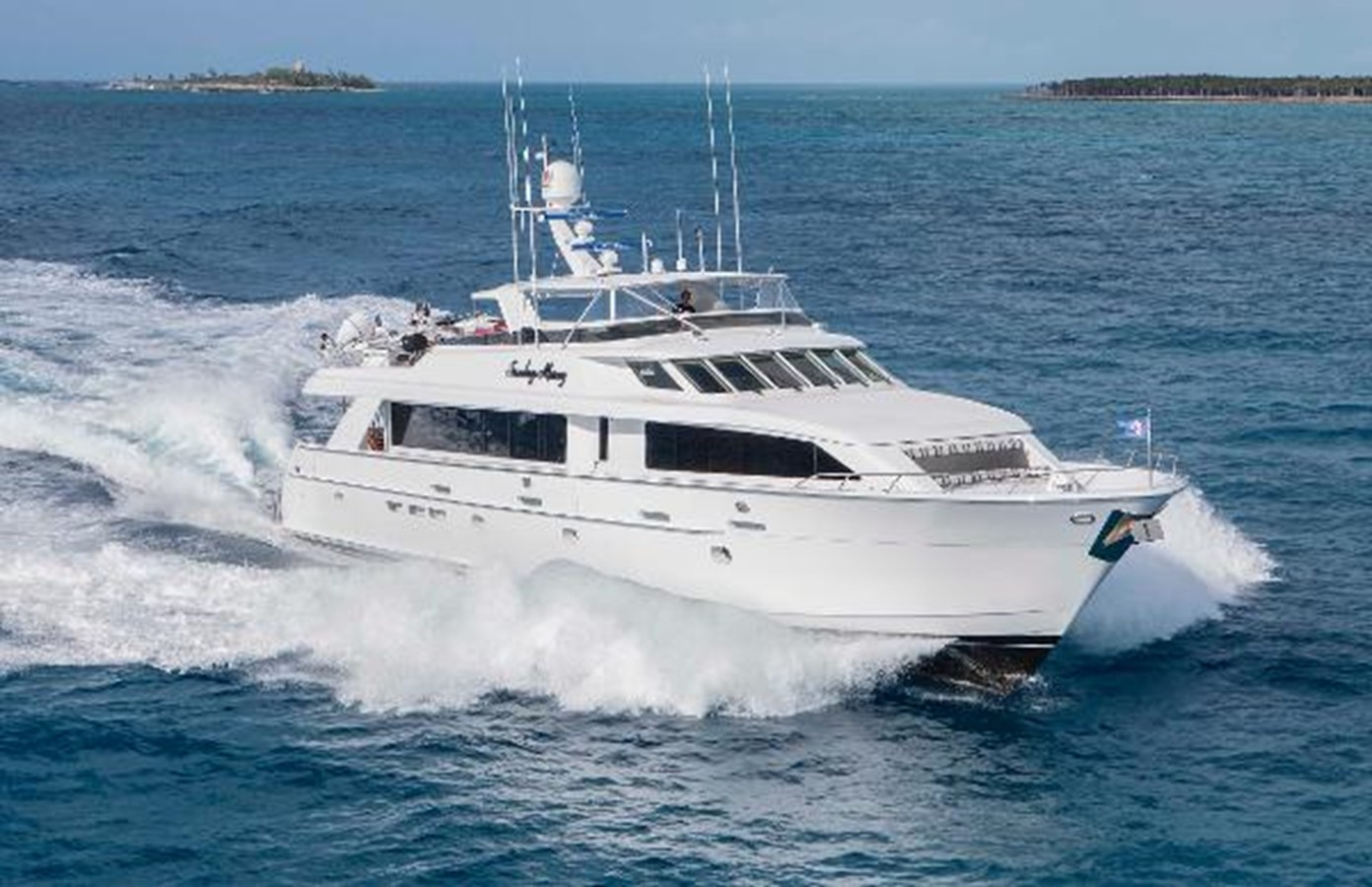 2001 HATTERAS 100 Motor Yacht For Sale