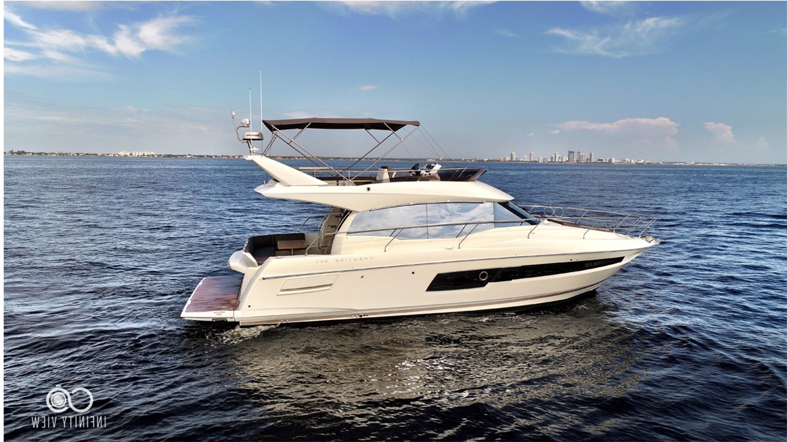2018 PRESTIGE 460 Flybrige For Sale