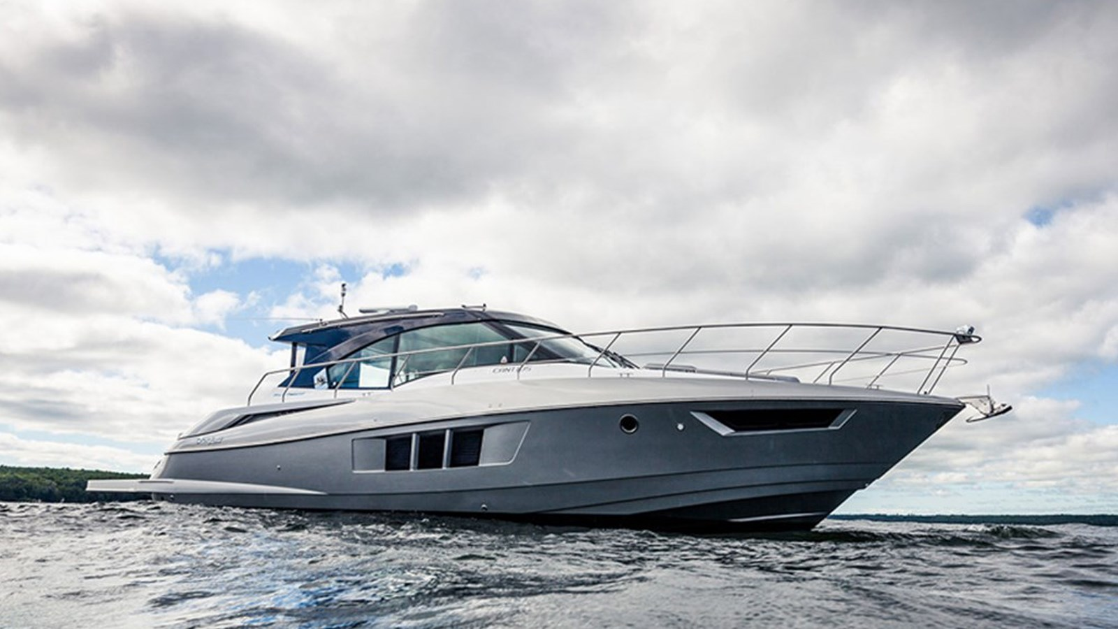2016 Cruisers Yachts 45 Cantius Black Diamond For Sale