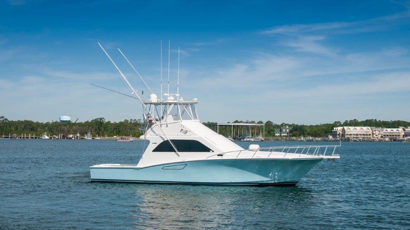 2001 CABO 47 Flybridge For Sale