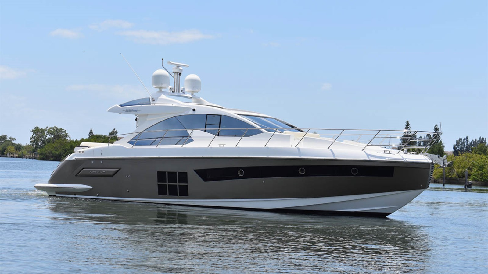 2013 AZIMUT 55S Open For Sale